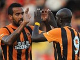 sone aluko and yannick sagbo lead hull to victory at york as tigers warm up for europa league campaign