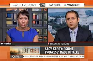 MSNBC Guest Rips 'Racist' Suggestion That Hamas Uses Human Shields