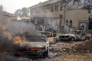 25 killed in Nigeria bomb blast