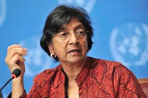 UN's Navi Pillay condemns Israel's military actions in Gaza Strip