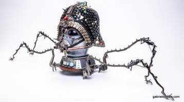 These amazing Star Wars sculptures are made out of junk