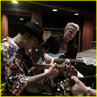 Cody Simpson Announces 'Special Project' with Justin Bieber After Studio Session!