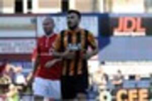 york city 0 hull city 2: sone aluko and yannick sagbo fire tigers...